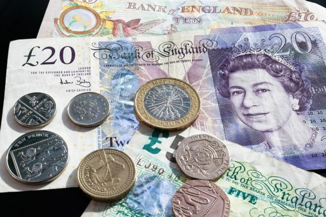 The British Pound declined to a two-year low against the dollar on Monday as the government took a hardline stance on exiting the European Union without a deal. Photo courtesy stux/Pixabay