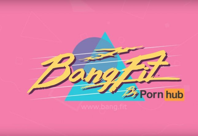 Adult video streaming website Pornhub launched BangFit a game-style exercise program based around different sex positions. The program claims to implement both videos on the website and movement tracking on a companion cellphone app, as well as a wearable BangFit Band. Screen capture/Pornhub/Youtube