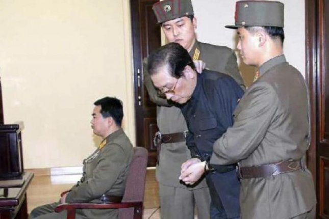 Kim Jong Un's uncle-in-law Jang Song Thaek was accused of attempting to overthrow the state in 2013. A defector said Friday the case led to the deaths and purges of thousands of North Koreans. File Photo by KCNA