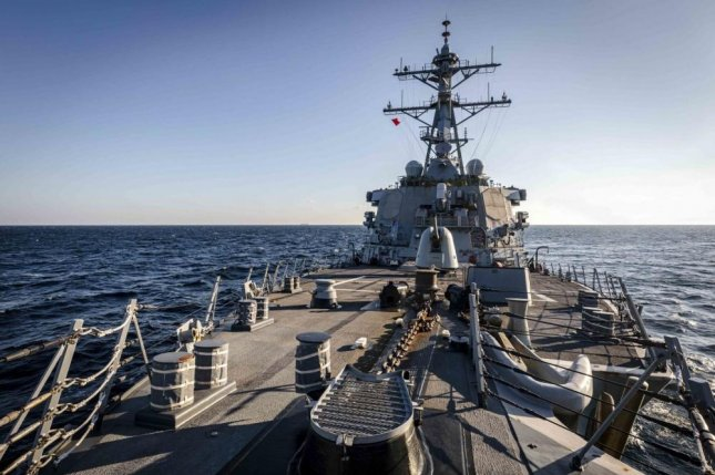 USS McCain traveled the Peter the Great Gulf in the Sea of Japan Tuesday. Photo courtesy of U.S. Navy