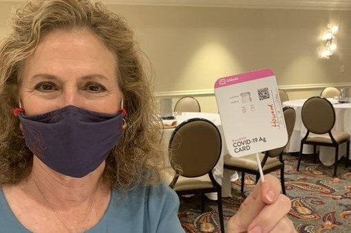 Texas state Rep. Donna Howard said Tuesday that she has tested positive for the coronavirus but is relatively asymptomatic aside from minor congestion. Photo courtesy of Texas state Rep. Donna Howard/Twitter