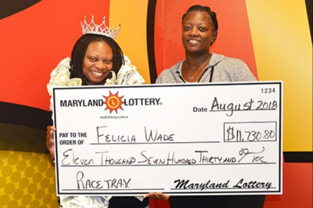 A Maryland woman visited lottery headquarters three times in the past month to collect large jackpots. Photo courtesy oft he Maryland Lottery