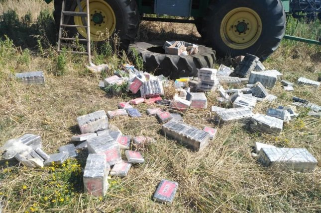 Uruguayan officials have seized more than four tons of cocaine with a street value of $1.3 billion. This photo, released by the Uruguayan Ministry of the Interior, shows bricks of cocaine found during a raid of a ranch implicated in the investigation.