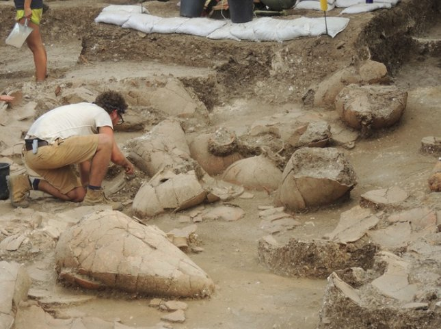 Wine cellar unearthed in Israel may be oldest found in Mideast to date