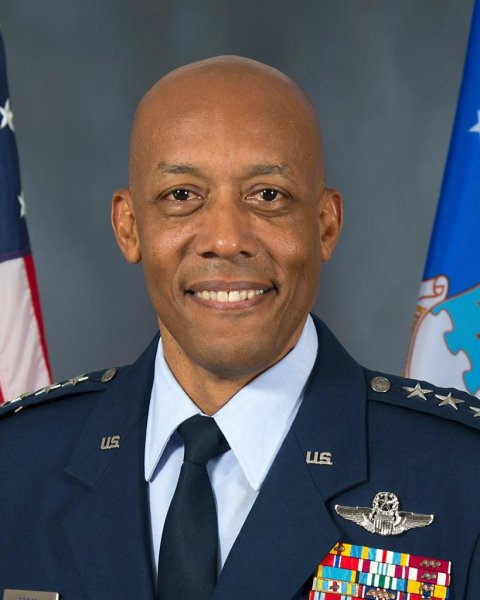 Gen. Charles Q. Brown was confirmed Tuesday as the Air Force's 22nd chief of staff -- and the first African-American man to lead a military branch. Photo courtesy of U.S. Air Force
