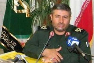 Gen. Mohammad Ali Allah-Dadi and five other Iranian soldiers were killed in the airstrike. Photo courtesy Sepahnews