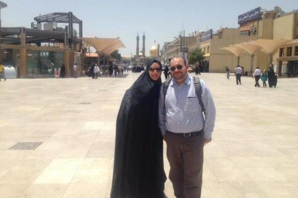 Jason Rezaian, Washington Post Tehran bureau chief, in an undated photo with wife Yeganeh Salehi. Rezaian, who has been jailed for more than a year in Iran, was found guilty in an internationally condemned espionage trial. Photo courtesy of Free Jason & Yegi/Facebook