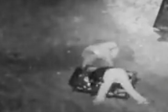 'Clumsy' burglar takes tumble during scrap metal theft