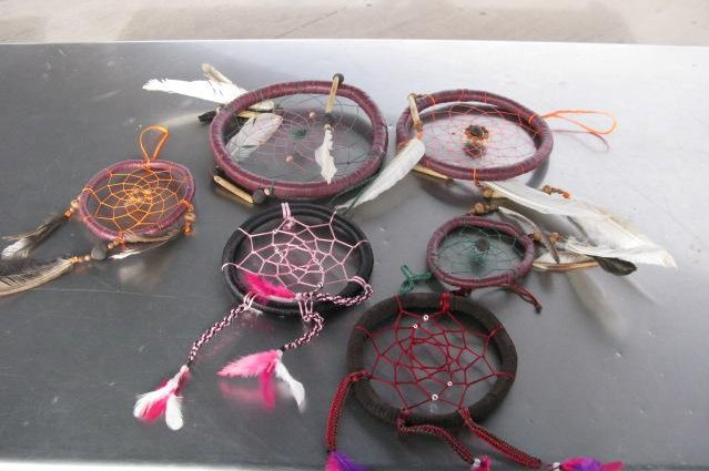 Customs officers in New Mexico discovered six dreamcatchers in a car attempting to cross into the country from Mexico contained 1.6 pounds of liquid methamphetamine. Photo courtesy of U.S. Customs and Border Protection