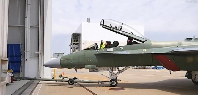 The U.S. Navy received its first two F/A-18 Super Hornet Block III fighter planes from Boeing Co. on Wednesday. Photo courtesy of U.S. Navy