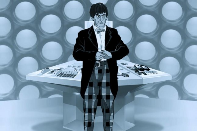 Image from the upcoming animated version of The Power of the Daleks, courtesy of the BBC