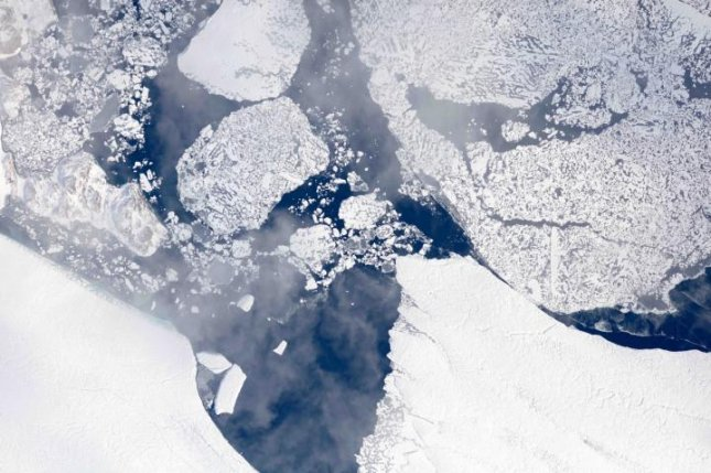 NASA maps summer ice melt in Greenland