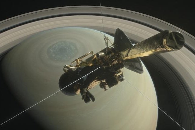 news science cassini spacecraft nasa loses contact dive through saturns rings grand finale