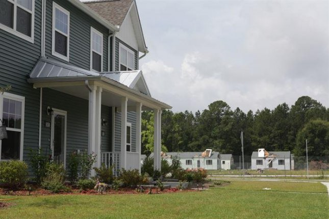 Military housing at Camp LeJeune, pictured in 2012, was heavily damaged last year during Hurricane Florence last fall. Photo by Lance Cpl. Paul Peterson/U.S. Marine Corps