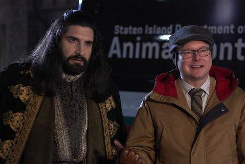 Nandor (Kayvan Novak), left, and Colin (Mark Proksch) return in Season 3 of What We Do In The Shadows. Photo courtesy of FX