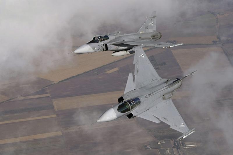 Sweden Hungary Update Gripen Lease Agreement Upi