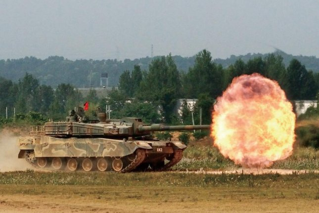 South Korea's indigenous K-2 Black Panther tank would improve operational capabilities, a Seoul military official said. File Photo courtesy of Republic of Korea Defense Photo Magazine