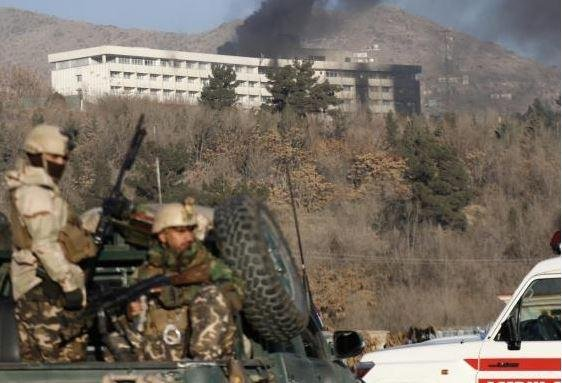 Pakistan called for an investigation Monday into Saturday's Taliban attack on Kabul's Intercontinental Hotel. The death toll varies widely, with 22 and 43 deaths reported. Photo by Jawad Jalah/EPA-EFE