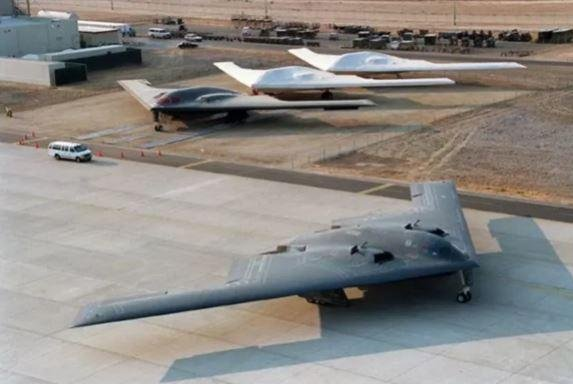 Edwards AFB, Calif., has been the site, since 1989, for testing and development of the U.S. Air Force's B-2 bomber, pictured. The 420th Flight Test Squadron at the base was reactivated last week to test the new B-21 Raider bomber. Photo courtesy of Northrop Grumman