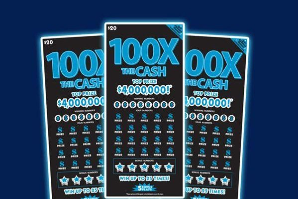 Matthew Hehs of Mooresville, N.C., stopped on his way to work to buy a salad and an energy drink and ended up winning a $100,000 jackpot from a scratch-off lottery ticket. Image courtesy of the North Carolina Education Lottery