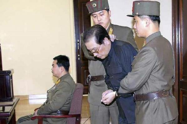 The highly public sentencing of Kim Jong Un's uncle-in-law Jang Song Thaek in 2013 is one of many purges and executions that have taken place since the North Korean leader assumed power. File Photo by KCNA