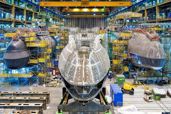 The U.K. Royal Navy says Astute-class attack submarines are the largest, most advanced, and most powerful submarines ever used by the force. Photo courtesy of BAE Systems