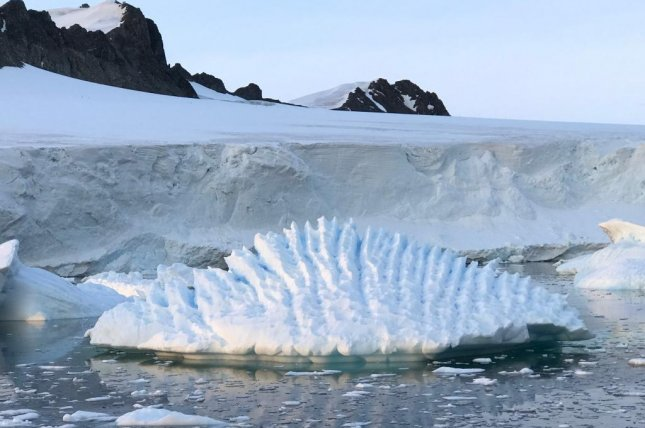 Nearly a quarter of West Antarctica's ice is unstable and climate change is to blame, according to a new study. Photo by Andrew Shepherd/AGU