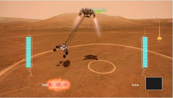 Xbox 360 players can 'land' Mars mission