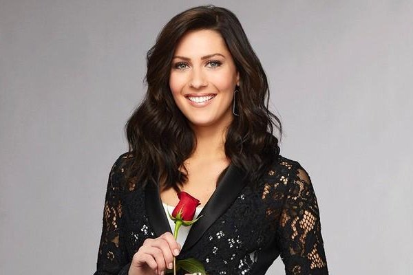 Becca Kufrin spoke out after Tia Booth faced backlash for sharing her feelings for Colton Underwood. Photo by ABC