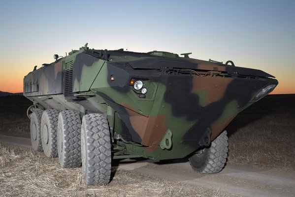 In December 2016, BAE Systems rolled out the first of the 16 prototypes for the assault combat vehicle. Photo courtesy of BAE Systems