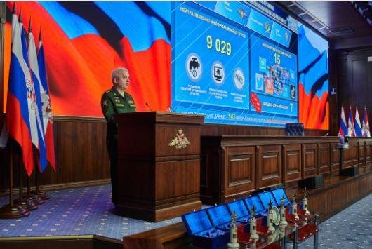 Russian Defense Minister Sergei Shoigu said on Friday that a secure Internet connection between government agencies and the Defense Ministry is now in place and working efficiently. Photo courtesy of Russian Defense Ministry