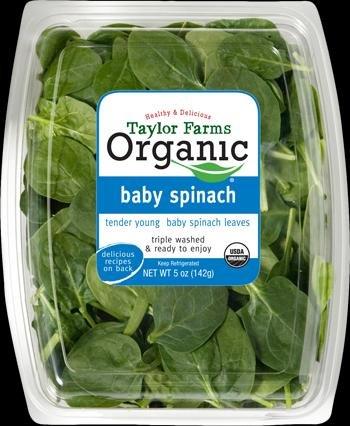 Spinach recall over E. coli