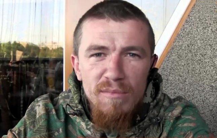 Arsen Motorola Pavlov, commander of pro-Russian rebel forces in eastern Ukraine, was killed by a bomb blast in Donetsk, Ukraine, Sunday. Photo courtesy of DenTVinform/Wikimedia
