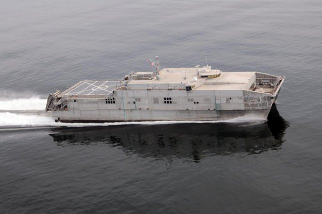 Once delivered, the U.S. Navy says their Expeditionary Fast Transport ships will support overseas contingency operations as well as humanitarian missions. Photo courtesy of Austal