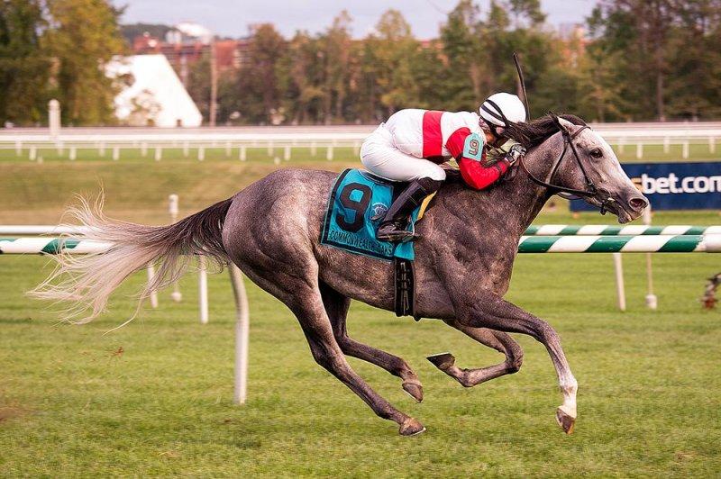 Onus wins Commonwealth Oaks Saturday, 26 September, at Laurel Park in Maryland. (Laurel Park photo)