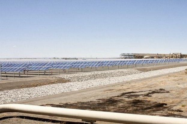 Wynn resorts in Las Vegas commits to buying enough solar power to meet 75 percent of the demand at a new facility. Photo courtesy of Italian energy company Enel