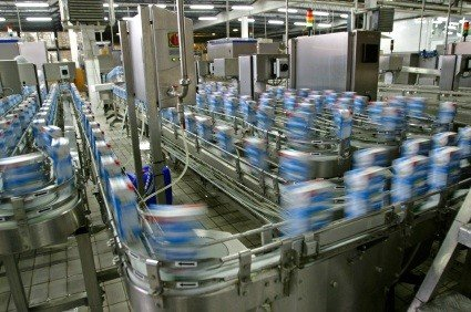 Production line in modern dairy factory (file/UPI)