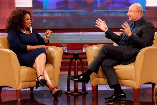 Photo of Oprah Winfrey and Dr. Phil McGraw courtesy of Peteski Productions/CBS Television Distribution