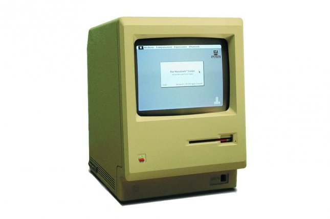 On Jan. 24, 1984, Apple's Macintosh computer went on sale. Price tag: $2,495. Photo via Wikipedia