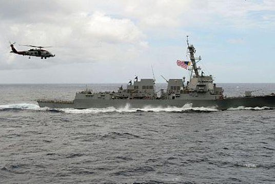 U.S.-China tensions rise over South China Sea warships