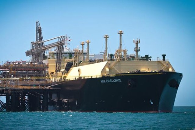U.S. supermajor Chevron ships first batch of liquefied natural gas from its giant Gorgon project in Australia to a Chinese buyer. Photo courtesy of Chevron.