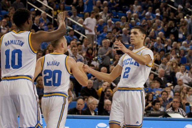 UCLA's Lonzo Ball heads the list of 183 early-entry applicants to the NBA Draft. Photo courtesy UCLA basketball via Twitter.