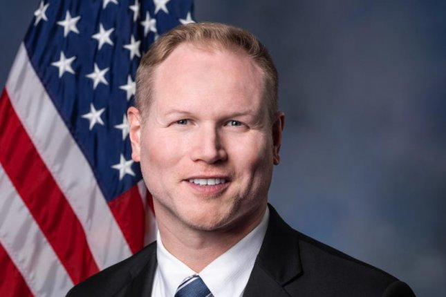 Rep. Steve Watkins, R-Kansas, was charged with three felonies and a misdemeanor Tuesday for listing a UPS store as his address on his 2019 voter registration. Photo courtesy U.S. House of Representatives