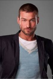 Photo of Andy Whitfield, the late star of TV's Spartacus: Blood and Sand, courtesy of Starz.