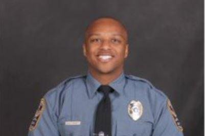 Antwan Toney, a 30-year-old police officer with the Gwinnett Police Department in suburban Georgia, died Saturday after he was shot while checking out a suspicious vehicle, police said. Phot courtesy of Gwinnett Police Department