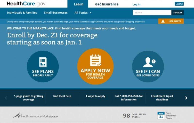 Almost 1 million got health insurance via federal website ... Marketplace Healthcare Gov Site