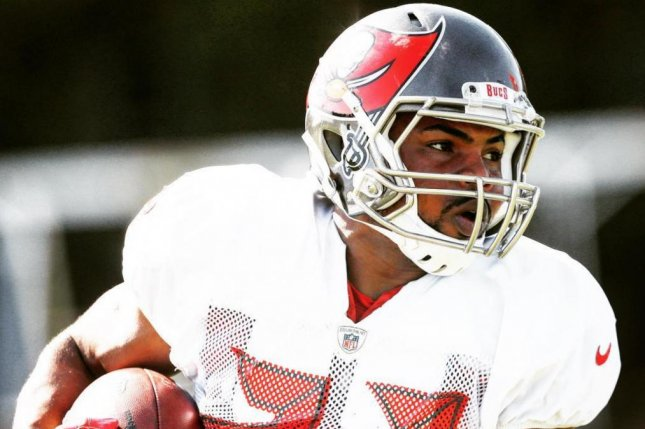 Tampa Bay Buccaneers running back Doug Martin was involved in a car accident Thursday after leaving the team's training facility in Tampa, Fla. Photo courtesy of the Tampa Bay Buccaneers/Instagram
