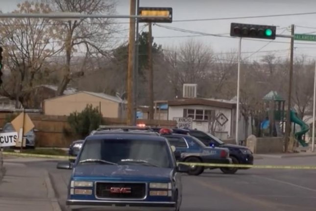 A police officer in Las Cruces, N.M., has been dismissed from his job and charged with manslaughter after a medical examiner ruled the February death of a man during a traffic stop was a homicide. Image via KRQE/YouTube
