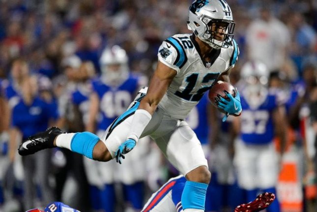 Carolina Panthers rookie WR D.J. Moore clocked at 113 mph - UPI.com 8d6e6f6ffa5e