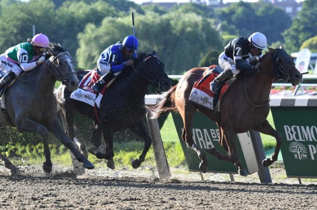 Sir Winston wins Saturday's Belmont Stakes, raising the question: Who's the best U.S. 3-year-old? Photo by Elsa Lorieul/courtesy of  New York Racing Association